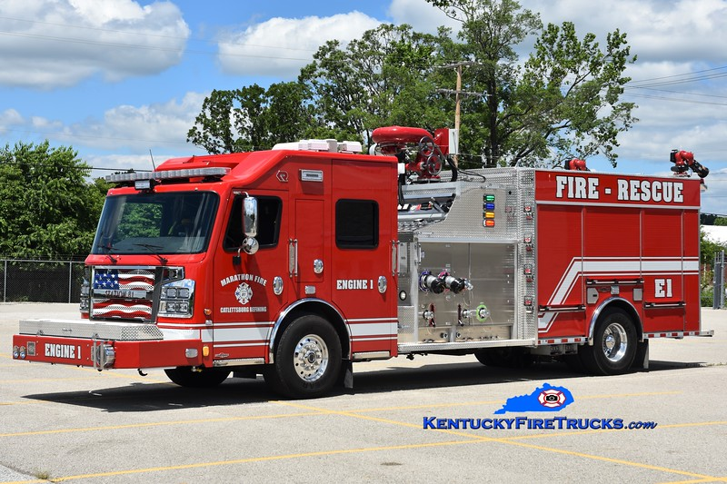 Marathon Oil Catlettsburg Refinery Engine 1<br /> 2019 Rosenbauer Commander 3000/1000F<br /> Greg Stapleton photo