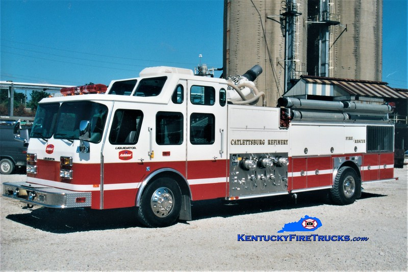 Ashland Oil Catlettsburg Refinery Engine 2<br /> 1996 E-One Hush Liquidator 6000/750F<br /> Greg Stapleton photo