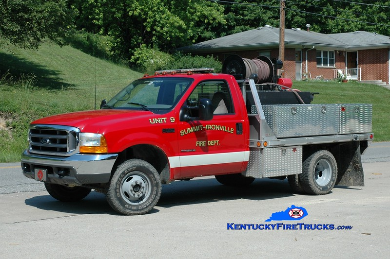 <center> Summit-Ironville  Brush <br> 1999 Ford F-350 4x4 250/250 <br> Greg Stapleton photo </center>