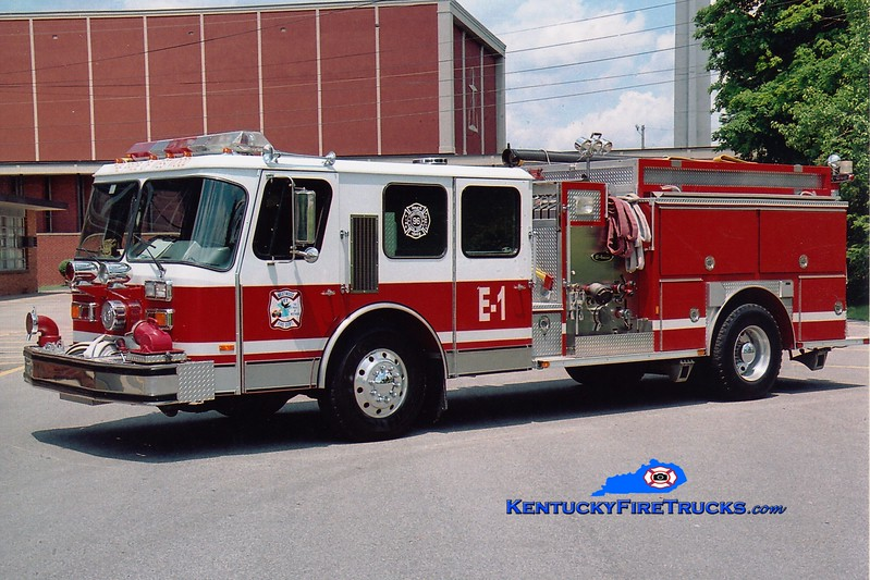 <center> RETIRED <br> Westwood  Engine 1 <br> 1989 E-One Hurricane 2000/750 <br> Greg Stapleton photo <br> </center>