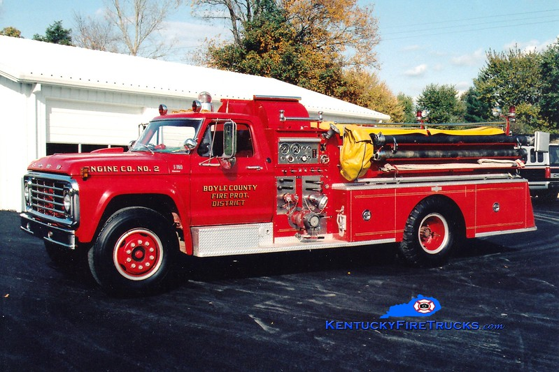 <center> RETIRED <br> Boyle County  Engine 2 <br> 1976 Ford F-750/Pirsch 1000/750 <br> Greg Stapleton photo </center>