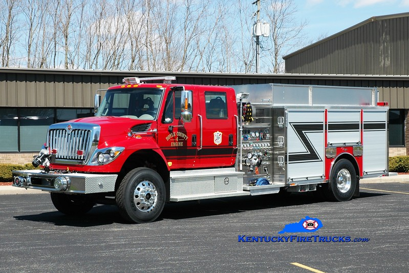<center> Boyle County  Engine 4 <br> 2015 International 7400/Toyne 1500/1500/100 <br> Greg Stapleton photo </center>