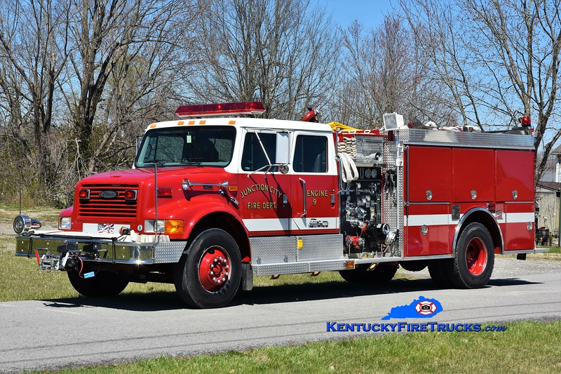 Junction City Engine 901 <br /> x-Engine 901 <br /> 1997 International 4900/Pierce 1250/1000 <br /> Greg Stapleton photo