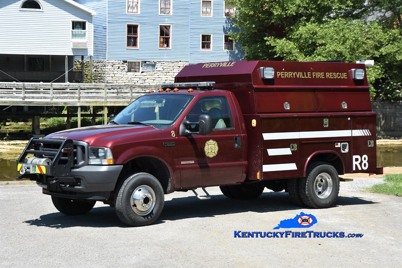 Perryville Rescue 8<br /> x-Stanford, KY <br /> 2004 Ford F-350 4x4/Reading<br /> Greg Stapleton photo