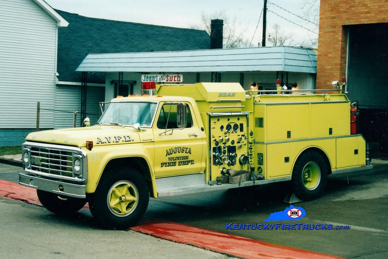 <center> RETIRED <br> Augusta  Engine 376 <br> 1976 Ford F/Bean 750/750 <br> Greg Stapleton photo <br> </center>