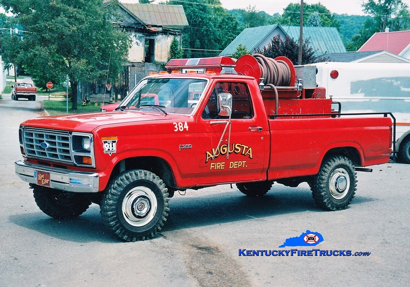 RETIRED <br /> Augusta  Brush 384<br /> 1984 Ford F-250 4x4 150/200<br /> Greg Stapleton photo