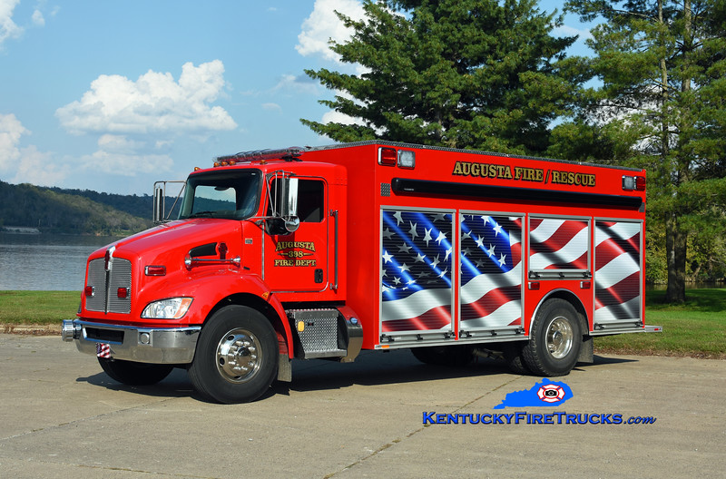 Augusta  Rescue 398<br /> 2018 Kenworth T-370/Southeast Apparatus<br /> Kent Parrish photo