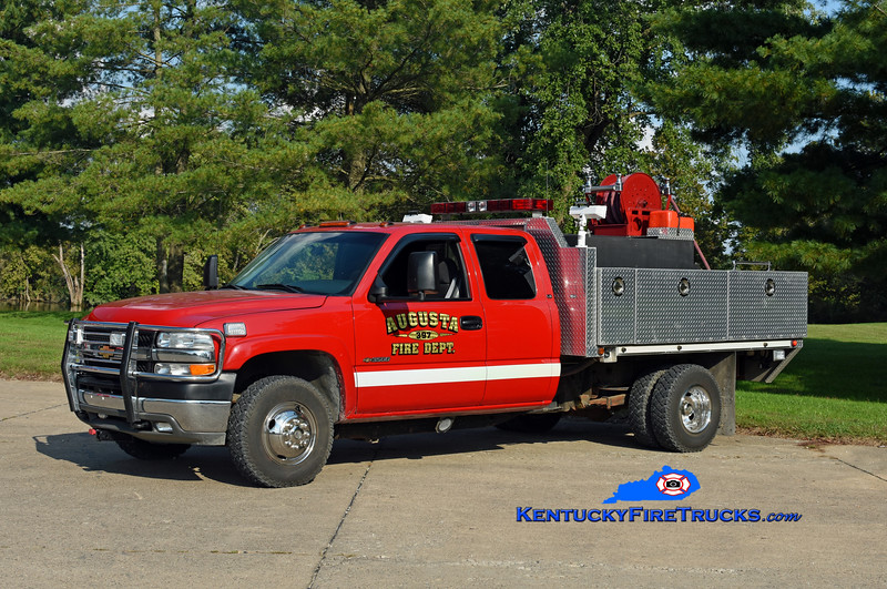 Augusta  Brush 397<br /> 2001 Chevy 3500 4x4/UPF 250/250<br /> Kent Parrish photo