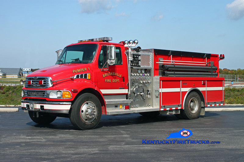 <center> Brooksville  Pumper 1 <br> 2008 Sterling Acterra/Summit 1250/1000 <br> Kent Parrish photo <br> </center>