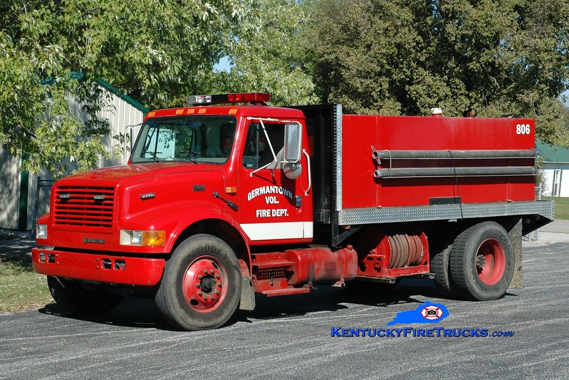 Germantown  Tanker 806<br /> 2000 International 4900/2005 FD 250/2000<br /> Greg Stapleton photo