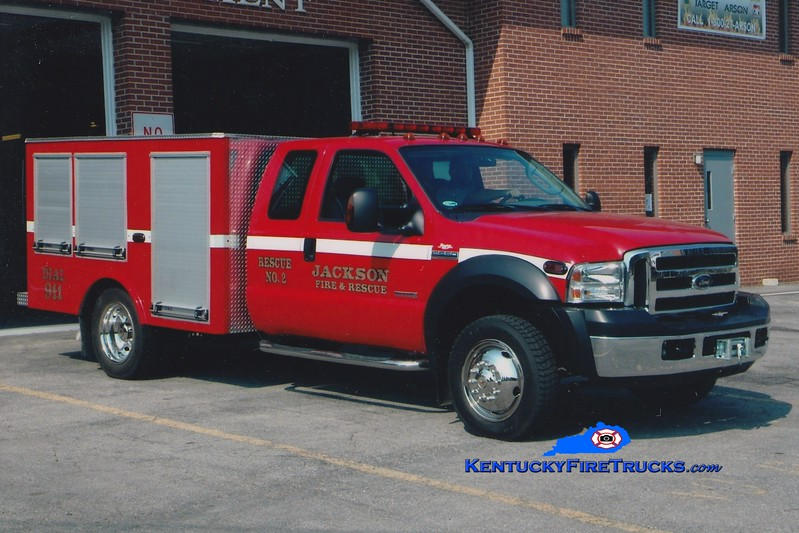 <center> Jackson  Rescue 2 <br> 2005 Ford F-550 4x4/Danko 250/250 <br> Greg Stapleton photo <br> </center>