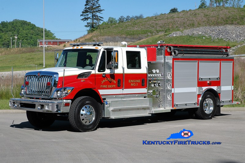 Jackson  Engine 1<br /> 2017 International 7300/Southeast 1250/1000<br /> Greg Stapleton photo