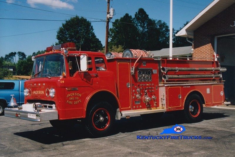 <center> RETIRED <br> Jackson  Engine 1 <br> 1979 Ford C/Jaco 1000/750  <br> Greg Stapleton photo <br> </center>