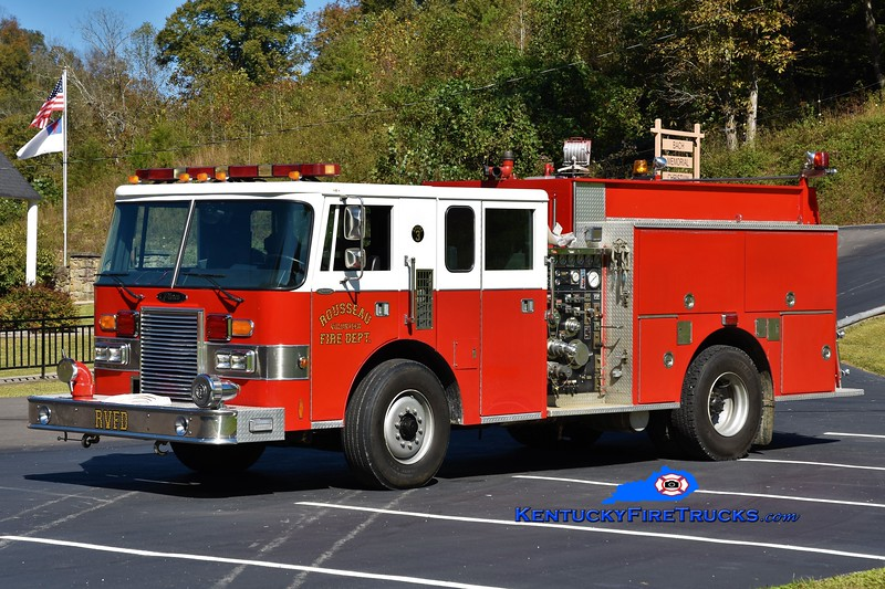 Rousseau  Engine 3<br /> x-Winchester, KY<br /> 1989 Pierce Lance 1500/750<br /> Greg Stapleton photo