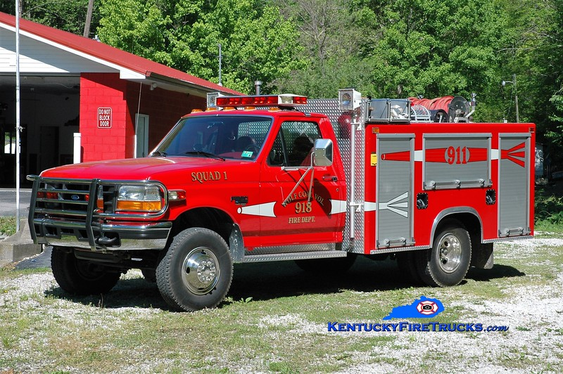 Wolf Coal  Squad 1<br /> x-Campbell County FD 1, KY<br /> 1997 Ford F-350 4x4/Mertz<br /> Greg Stapleton photo