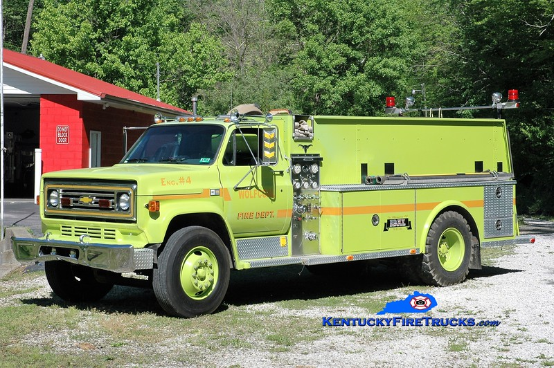 Wolf Coal  Engine 4<br /> 1985 Chevy C70/Allegheny 450/1500<br /> Greg Stapleton photo