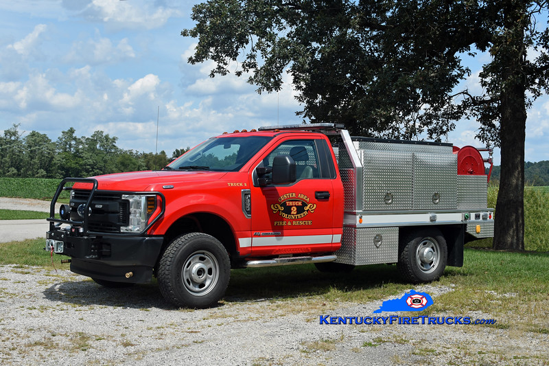 Custer Area Brush 2<br /> 2018 Ford F-350 4x4/CET 250/150<br /> Kent Parrish photo