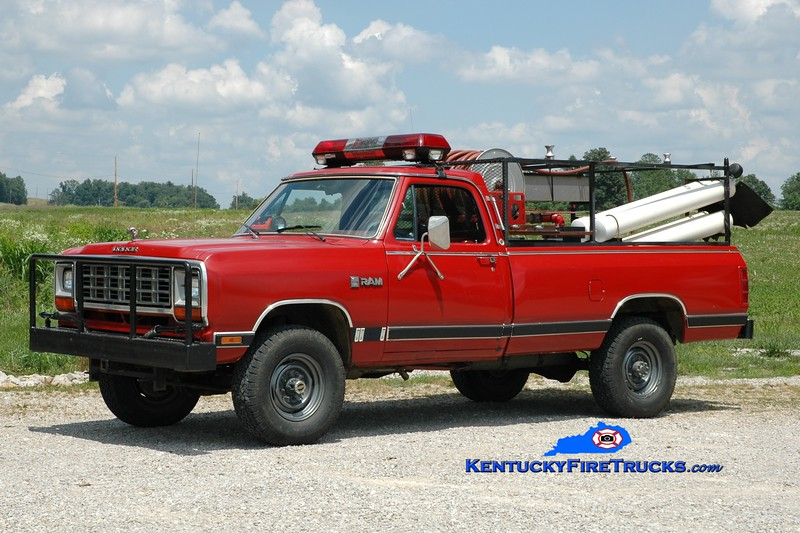 <center> Custer Area  Brush 1 <br> 1986 Dodge Ram 4x4 50/100 <br> Greg Stapleton photo </center>