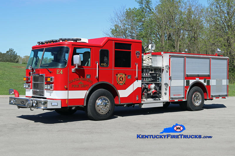 Hardinsburg  Engine 4<br /> x-Jefferson Parish, LA<br /> 2001 Pierce Dash 1500/500<br /> Kent Parrish photo