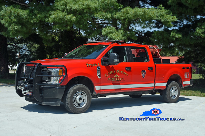 Hardinsburg  Brush 1<br /> 2017 Ford F-250 4x4/CET 250/200<br /> Kent Parrish photo