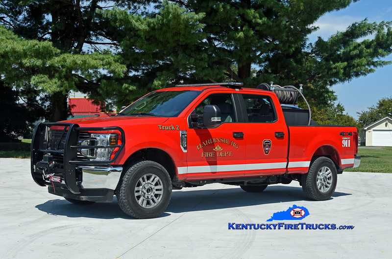 Hardinsburg  Brush 2<br /> 2019 Ford F-250 4x4/2004 Nichols Fire & Safety 250/250<br /> Kent Parrish photo