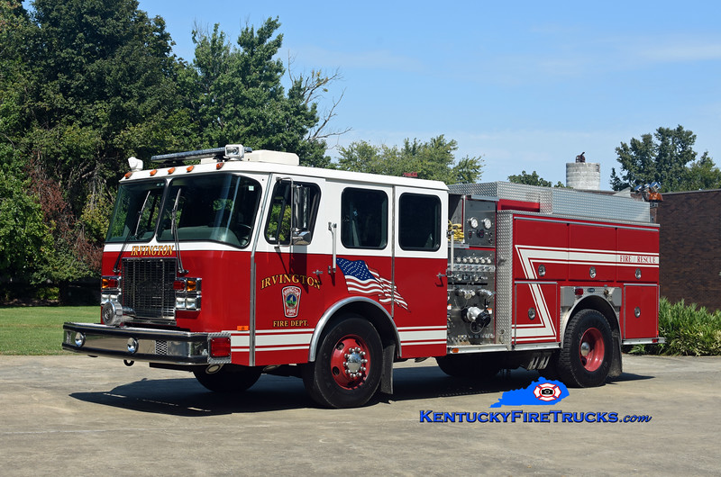 Irvington  Engine 1244<br /> x-Kansas City, MO & Central Hardin, KY<br /> 1997 E-One Cyclone II 1250/1000<br /> Kent Parrish photo