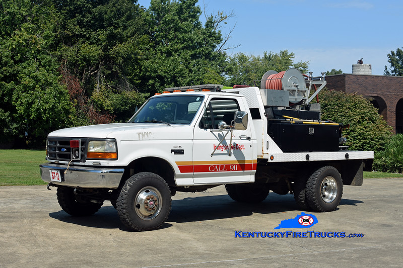 Irvington  Brush 1233<br /> 1992 Ford F-350 4x4/FD-Local 250/250<br /> Kent Parrish photo