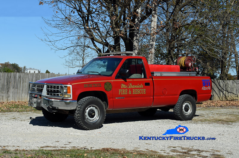 McDaniels  Brush 1<br /> 1990 Chevy 1500 4x4/Marco 250/250<br /> Kent Parrish photo