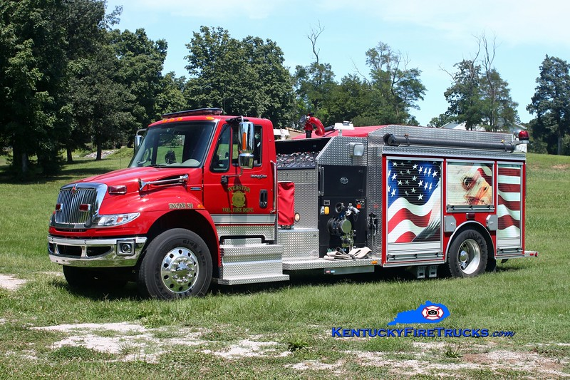 <center> Webster Engine 510 <br> 2010 International 4400/Wynn 1500/1000/CAFS <br> Kent Parrish photo </center>