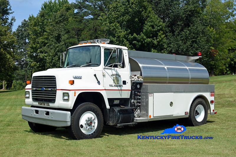 Webster Tanker 1<br /> x-Awendaw, SC<br /> 1994 Ford L8000/FES 250/2000<br /> Kent Parrish photo