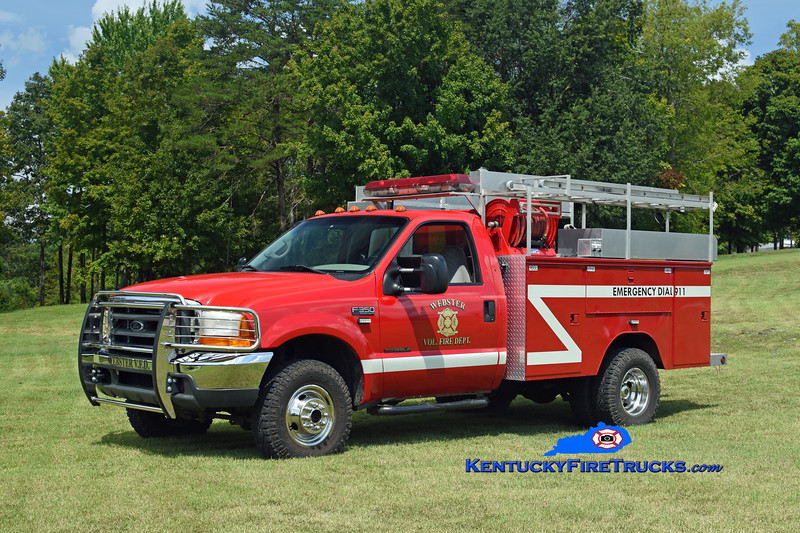 Webster Truck 1<br /> 1999 Ford F-350 4x4/Knapheide 250/300<br /> Kent Parrish photo