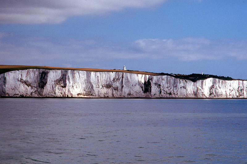 White cliffs of Dover, Britain