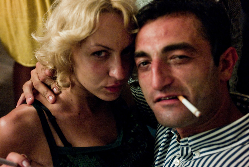 August 2011, Batumi, Georgia:  Wealthy Georgians seen at Party in Batumi.  Since the money has begun to flow from the Baku-Tbilis-Ceyhan (BTC) oil pipeline, designer shops and expensive hotels and restaurants have sprung up in Baku.  The disparities between rich and poor are however still enormous.
