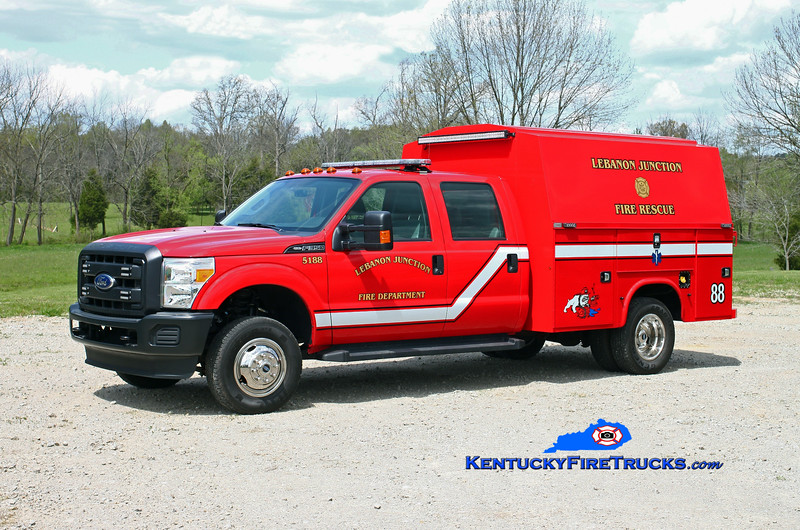 Lebanon Junction  Rescue 5188<br /> 2015 Ford F-550 4x4/Knapheide-Manning<br /> Kent Parrish photo