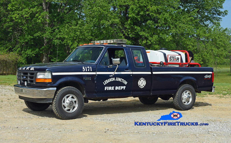 Lebanon Junction Brush 5171<br /> 1995 Ford F-250 4x4/NorthStar 11/200<br /> Kent Parrish photo