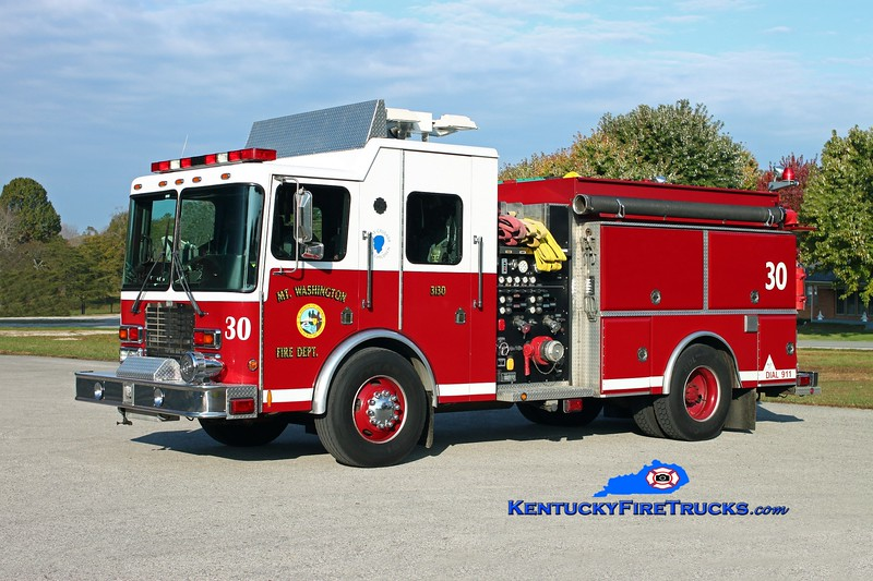 <center> Mt Washington  Engine 3130 <br> 2001 HME-Summit/1989 Grumman 1250/750 <br> Kent Parrish photo </center>
