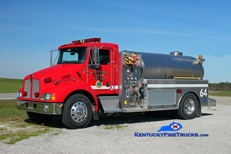 <center> Mt Washington  Tanker 3164 <br> 2008 Kenworth T-300/Bluegrass 500/2250 <br> Kent Parrish photo </center>
