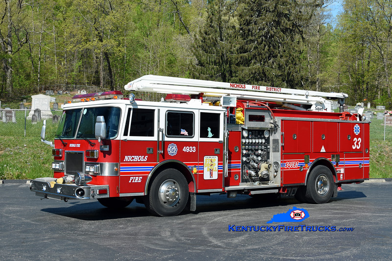 Nichols  Squrt 4933<br /> x-Okolona, KY<br /> 1991/1994 Pierce Arrow 1500/750/54' Squrt<br /> Kent Parrish photo
