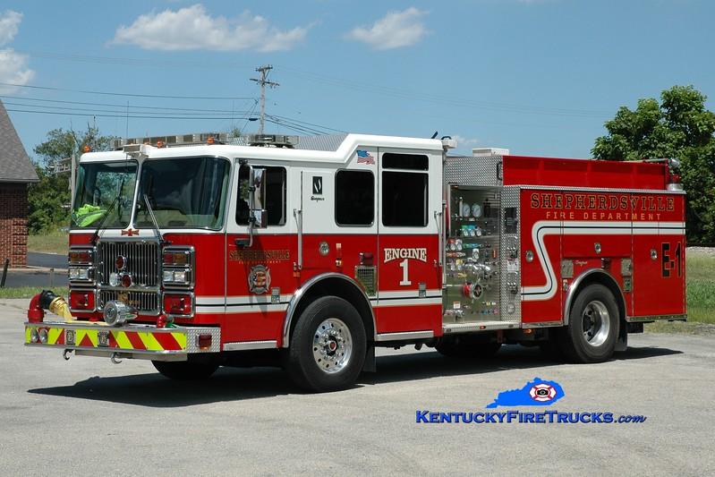 <center> RETIRED <br> Shepherdsville Engine 1 <br> 2006/2014 Seagrave Marauder II 1500/750 <br> Greg Stapleton photo </center>