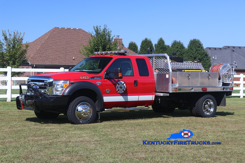 Southeast Bullitt Brush 6172<br /> Chassis x-Rescue 6183/Body x-Brush 6173  <br /> 2011 Ford F-550 4x4/Freedom Fire/2017 FD 250/250/10<br /> Kent Parrish photo