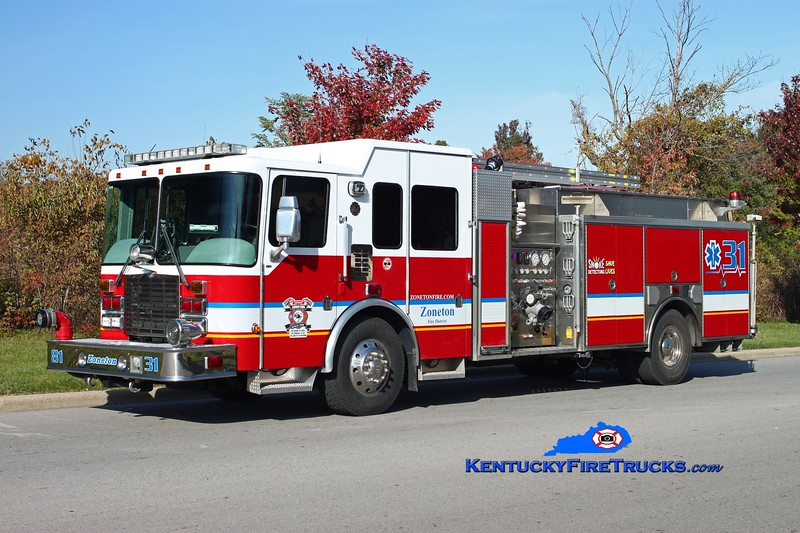 <center> Zoneton Engine 8131 <br> 2005 HME Ahrens-Fox 1500/750/30 <br> Kent Parrish photo </center>