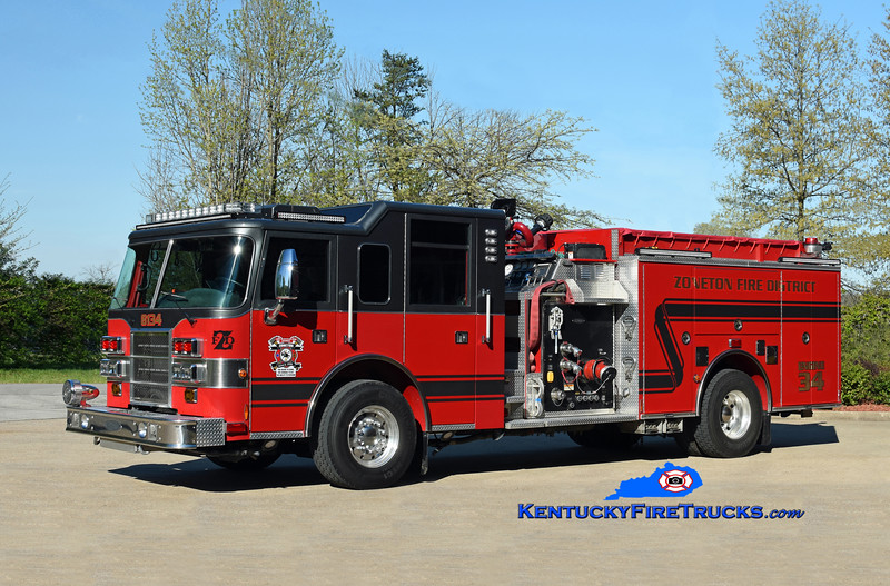 Zoneton Engine 8134 <br /> 1999 Pierce Dash 2000/1000 (2018 refurb)<br /> Kent Parrish photo