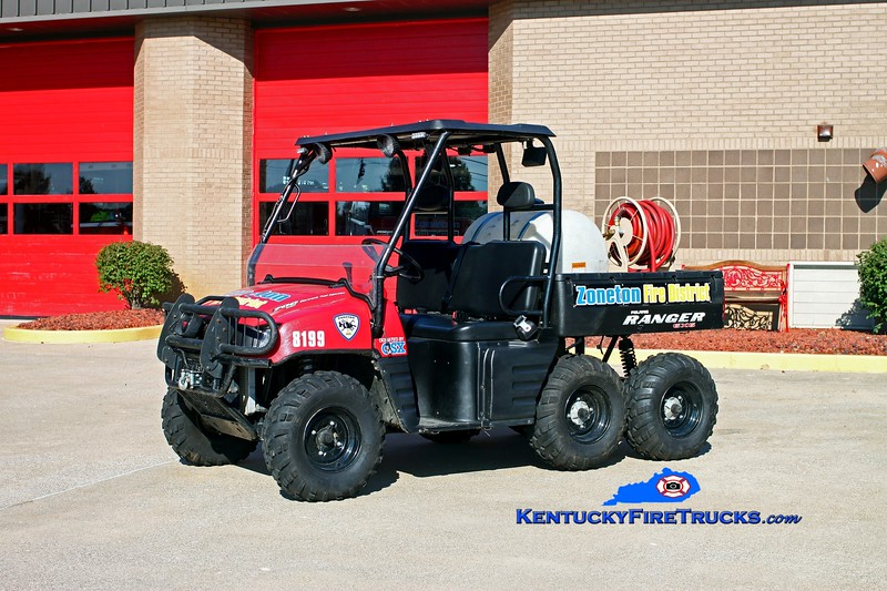 <center> Zoneton  ATV 8199 <br> 2008 Polaris 6x6 25/50 <br> Kent Parrish photo </center>