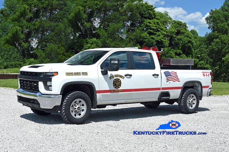 5th District Brush 53 <br /> 2020 Chevy 3500 4x4/CET 250/250<br /> Kent Parrish photo