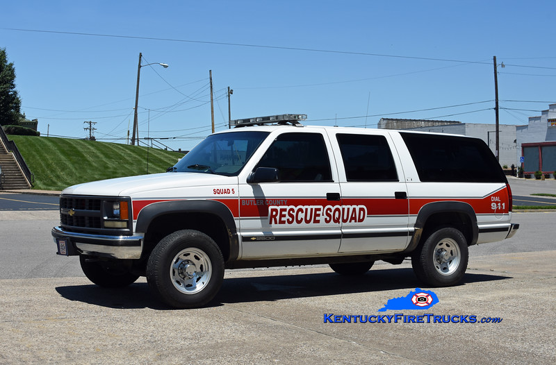 Butler County Rescue Squad 5<br /> 1994 Chevy Suburban 2500 4x4<br /> Kent Parrish photo