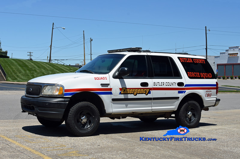 Butler County Rescue Squad 1 <br /> 2000 Ford Expedition 4x4<br /> Kent Parrish photo