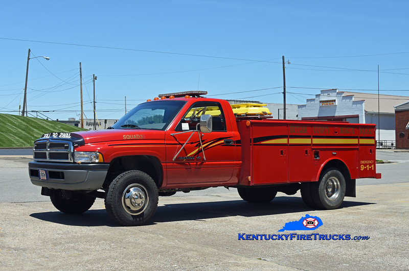 Butler County Rescue Squad 3<br /> 1996 Dodge Ram 3500 4x4/Warner Bodies<br /> Kent Parrish photo