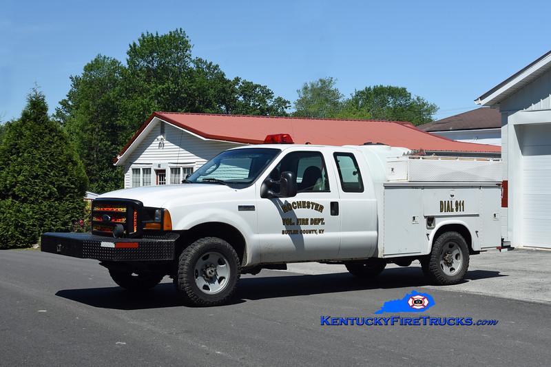 Rochester Truck 35<br /> 2005 Ford F-350 4x4/Knapheide/FD 250/250<br /> Kent Parrish photo