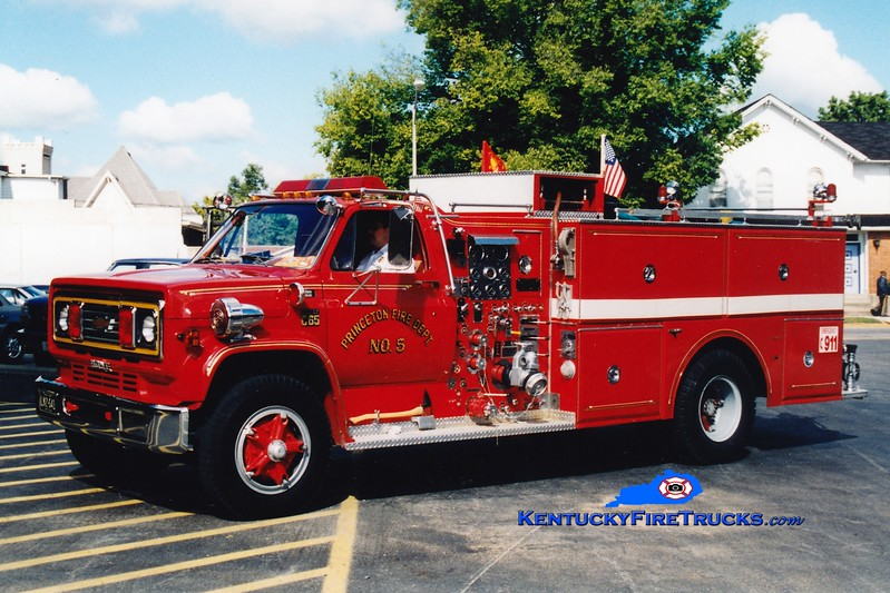 <center> RETIRED <br> Princeton  Engine 5 <br> 1979 Chevy C65/Grumman-Howe 750/1000 <br> Greg Stapleton photo </center>