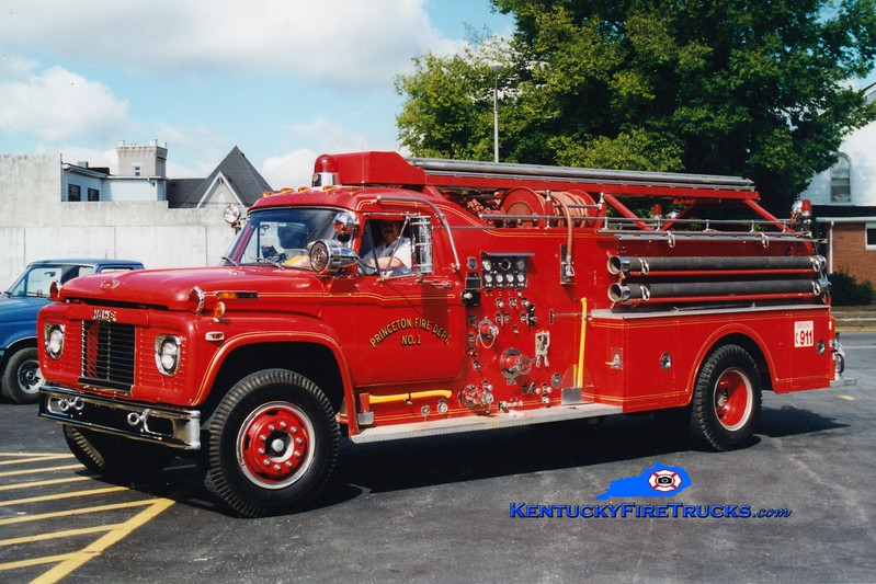 <center> RETIRED <br> Princeton  Engine 1 <br> 1968 Ford F/Howe 750/750/Quad <br> Greg Stapleton photo </center>